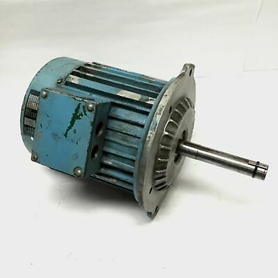 DoALL CNS C-112 Vertical Mill Spindle Motor 3-Phase 4-Pole, 230VAC, 1720RPM, 2HP
