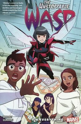 Unstoppable Wasp Unlimited TPB (Marvel) #1-1ST 2019 NM Stock Image