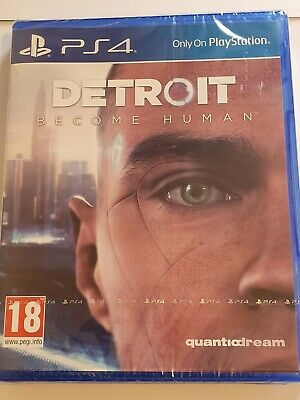 Detroit Become Human Ps4 Uk Game New Sealed *Free Uk Post*