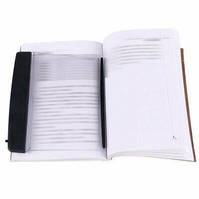 Creative book adjustable Brightness reading light panel LED for night reading
