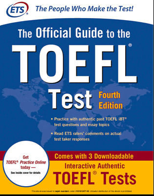The Official Guide TOEFL (PDF)