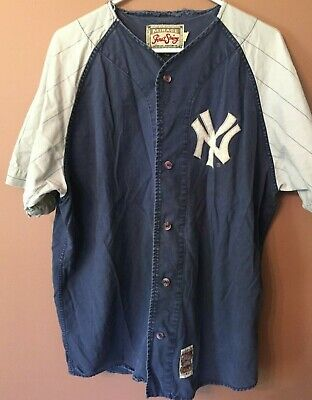 e76ed857378 Mirage First String Cooperstown Collection NY Yankees 1961 Jersey Vintage L