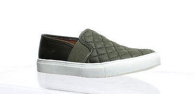 299066 Women's Shoes New Fashion Steve Madden Womens Ennore Olive Casual Flats Size 7 Comfort Shoes