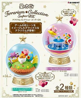Kirby Super Star Terrarium Collection Super DX Big Size All 2 set Japan Re-ment