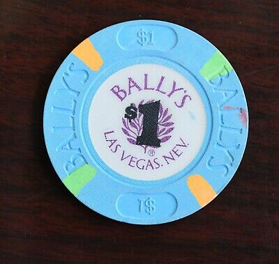 Bally's Hotel Casino Gaming Dollar Token Las Vegas Nevada Rare Chip