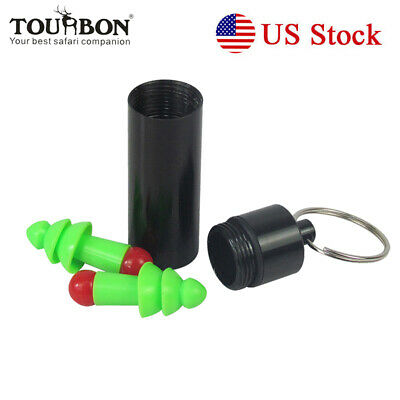Facility Maintenance & Safety Tourbon Silicone Ear Plugs Protector Set Hearing Protection Noise Reducer Blue