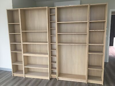 Brand New Fully Assembled Ikea Book Cases