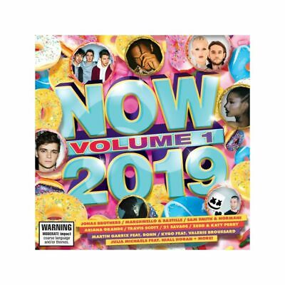 NOW 2019 VOLUME 1 - Various Artists CD *NEW* 2019