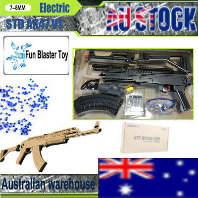 STD 1911 GEL Blaster Pistol Manual Mag Fed Gel Gun 100% Aus