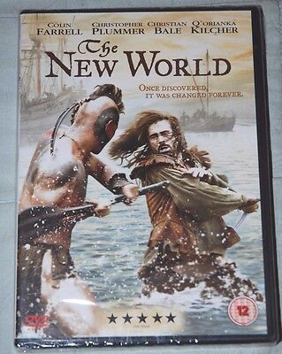 THE NEW WORLD, DVD - NEW & Sealed, Colin Farrell, Christian Bale
