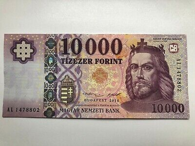 Hungarian Banknote 10000 HUF Forint Hungary 2014 GEM UNC CU Uncirculated