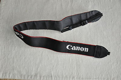 Canon  Black/Red/White Genuine Shoulder Neck Strap For Eos Dslr Camera *C112**