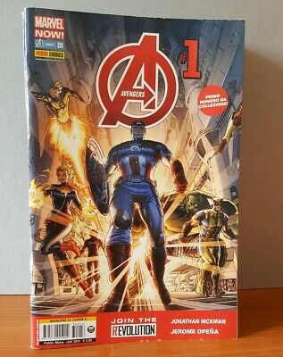 Infinity -Marvel Now Avengers Dal 1 -14 Serie Completa  Anno 2013 -2014