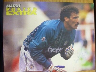 c1990-00's Autographed Poster: Manchester City - Coton, Tony [Approx 8x12 Inches