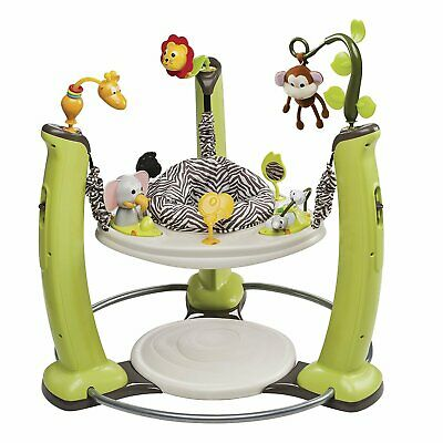 Evenflo ExerSaucer Jump Learn Stationary Jumper - Jungle Quest