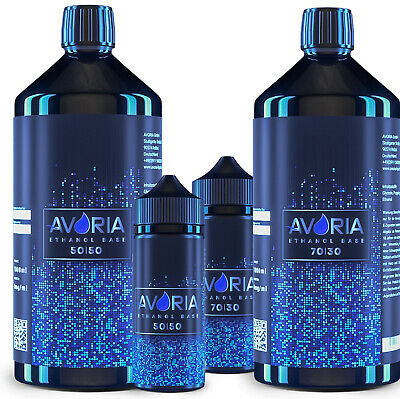 AVORIA Ethanol Base  Liquid Aroma 0mg Nikotin 90 ml - 1000 ml