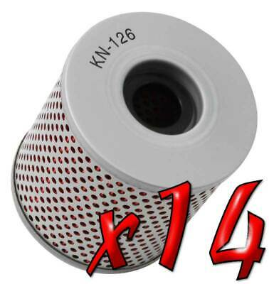 14 Pack: Oil Filters Pro Series Powersports Cartridge K&N KN-126