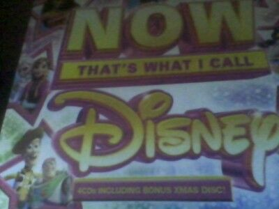 NOW Thats What I Call Disney - Various Artists -4cd new sealed free postage