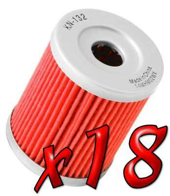 18 Pack: Oil Filters Pro Powersports Cartridge - For SYM, , Yamaha Scooter