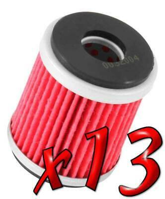 13 Pack: Oil Filters Pro Powersports Cartridge KN. - For MBK, Yamaha Scooter