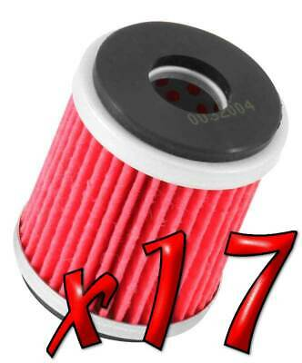 17 Pack: Oil Filters Pro Powersports Cartridge KN. - For MBK, Yamaha Scooter