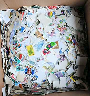 United States Off Paper Stamps 125 per lot, Unsearched, Mint, used  off paper