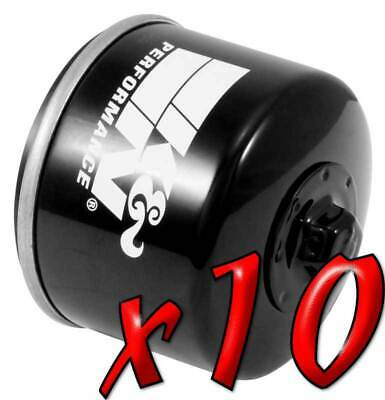 10 Pack: Oil Filters Pro Powersports Canister KN. - For BMW, Husqvarna MC