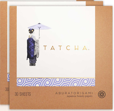 TATCHA ORIGINAL ABURATORIGAMI Japanese Blotting Papers (1x pack) BRAND NEW