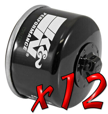 12 Pack: Oil Filters Pro Powersports Canister KN. - For Aprilia, Gilera MC