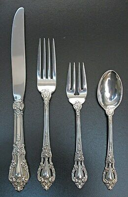 Eloquence By Lunt Sterling Silver Place Setting s 4pc
