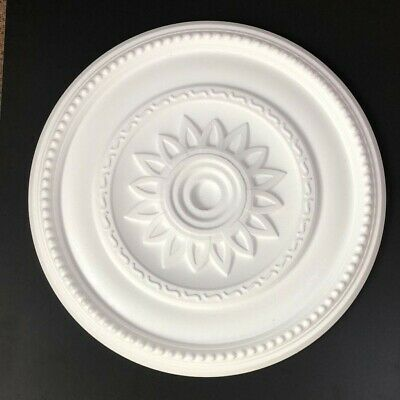 Ceiling Rose Size 400mm - 'Buckingham' Lightweight Polystyrene *We Combine P&P*