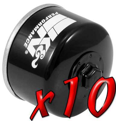 10 Pack: Oil Filters Pro Powersports Canister KN. - For Kymco, Yamaha Scooter