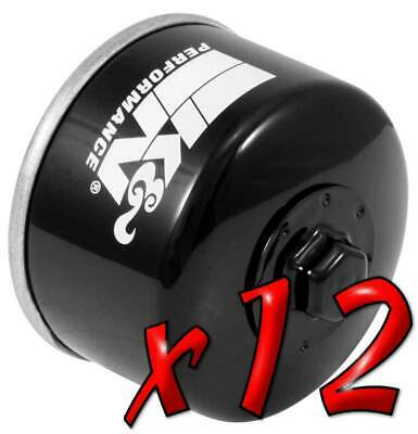12 Pack: Oil Filters Pro Powersports Canister KN. - For Kymco, Yamaha Scooter