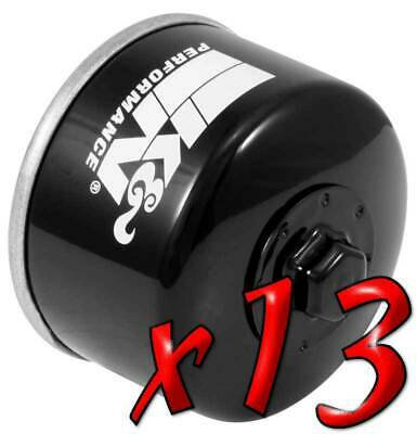 13 Pack: Oil Filters Pro Powersports Canister KN. - For Kymco, Yamaha Scooter
