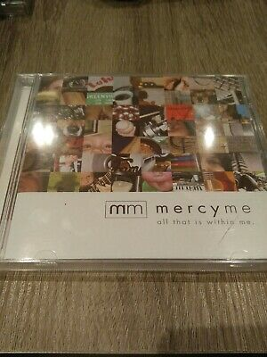 All That Is Within Me MercyMe BRAND NEW SEALED CD 2007 Ino Records Bart Millard