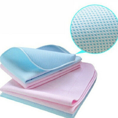 Waterproof Reusable Baby Nappy Changing Mat Change Pad Cover Large Change Mat KS