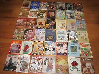 Huge Craft Magazine Lot 42 Pattern Designs Stained Glass Knit Sew Crochet Quilt