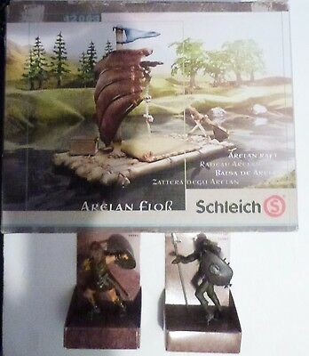 Schleich Arelan Raft Action Figures