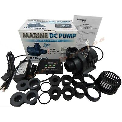 Jebao/Jecod DCP-5000 Submersible Return water Pump for Reef Tank upgrade DCT DCS
