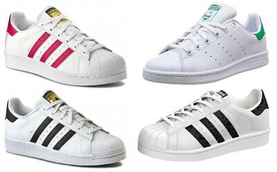 separation shoes a8688 55b8c Adidas Superstar J C77154 Scarpe Sneakers Donna-Bambino a