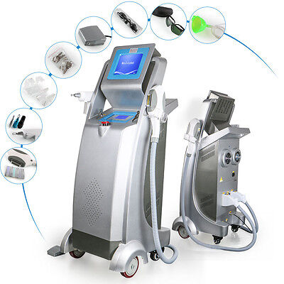 2 IN 1 IPL E-Light Hair Removal ND Yag laser Tattoo Removal Spa Beauty Machine