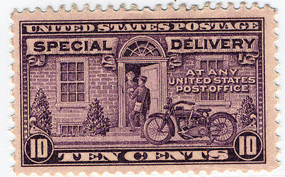 US Scott #E15 Motorcycle 10¢ Gray Violet Special Delivery  MNH  ***FREE SHIP****