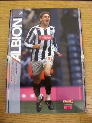29/12/2007 West Bromwich Albion v Scunthorpe United  . Any faults with this item