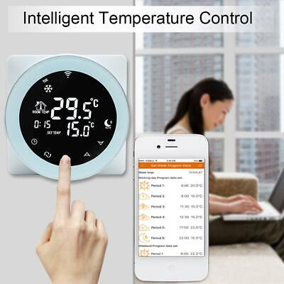 Smart WiFi Temperature Controller Programmable Thermostat for Alexa/Google Home