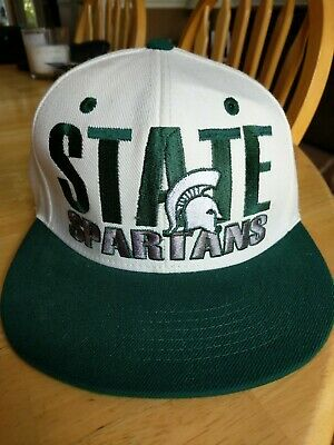 big sale 30a50 e19b2 Michigan State Spartans Top of the World NCAA Snapback Hat Cap