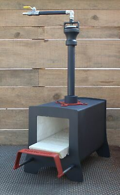 Gas Propane Blacksmith and Knifemaking Forge made by BURNCRAFT
