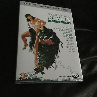 Roger corman drive in collection 10 cult classics on 4 DVDs new sealed