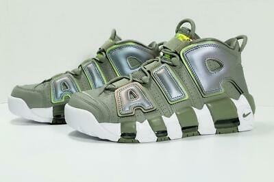 894f1398b6 Nike Air More Uptempo Shoes Fashion Sneakers 917593-001 Dark Stucco Green  White