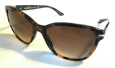 ae9810e692bdc Authentic Versace MOD.4290-B 944 13 Dark Tortoise Sunglasses 57mm Case  Included