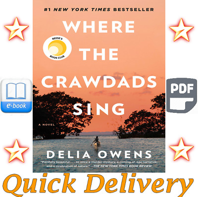 Where the Crawdads Sing By Della Owens ( E-B00K, PDF )
